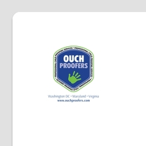 Logo Design for Ouch Proofers