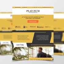Bespoke single-page website design