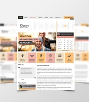 Bespoke Web Design for Kilgore Dental Care