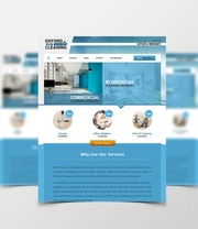 Bespoke Web Design for Oxford City Cleaning