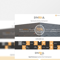 Bespoke Web Design for Syntex
