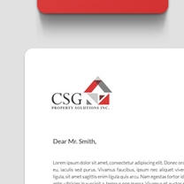 Identity and Brand Design for CSG Property Solutions