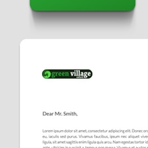 Identity and Brand Design for Green Village