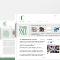 Bespoke Web Design for InClout