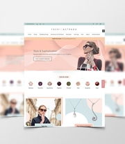 Bespoke Web Design for Fashion Strada