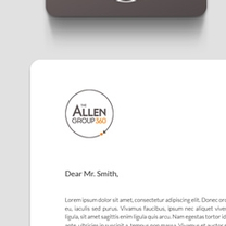 Identity and Brand Design for Allen Group 360