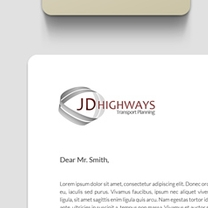 Identity and Brand Design for JD Highways