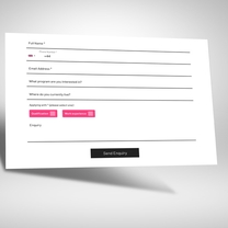 Integrated contact form