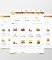 Bespoke Web Design for Food Depot International
