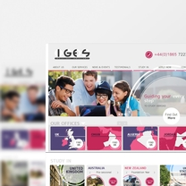 Bespoke Web Design for IG For Education Services