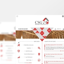 Bespoke Web Design for CSG Property Solutions