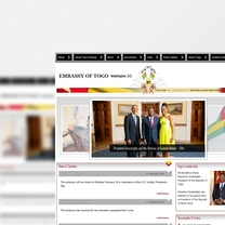 Bespoke Web Design for Embassy of Togo
