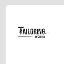 Logo Design for Tailoring by Carter