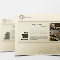 Bespoke Web Design for JD Highways