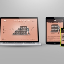 Responsive design adapting to any device, any screen size