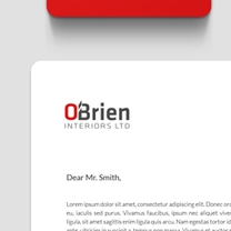 Identity and Brand Design for O'Brien Interiors