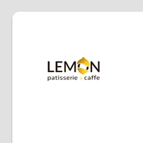 Lemon Patisserie & Caffe logo design