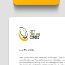 Identity and Brand Design for City College Oxford