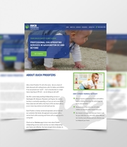 Bespoke Web Design for Ouch Proofers