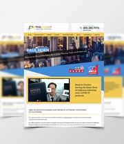 Bespoke Web Design for Paul Horn Law Firm