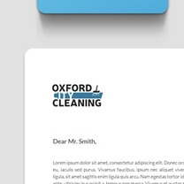 Identity and Brand Design for Oxford City Cleaning
