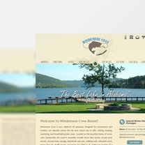 Bespoke Web Design for Windemere Cove