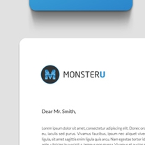 Identity and Brand Design for MonsterU