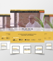 Bespoke Web Design for Platinum Education Services