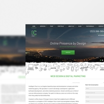 Bespoke Web Design for Intelligent Clout