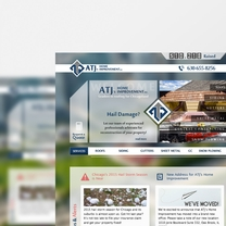 Bespoke Web Design for ATJ's Home Improvement